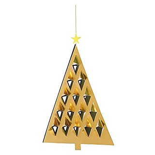 Flensted Mobiles Nursery Mobiles, Prism Tree Gold