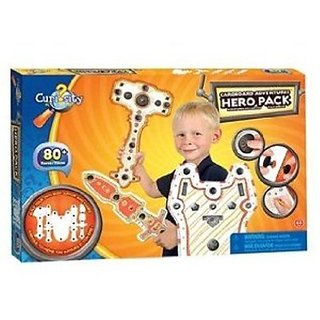 Orb Factory Curiosity Kits Cardboard Adventures: Hero Pack