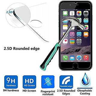 iPhone 6 Plus Screen Protector 5.5, Mcoolbo Premium 9H Tempered Glass Screen Protector for iPhone 6 Plus 5.5 inch, Anti