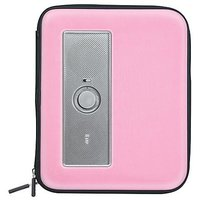 iLuv iSP210BLK Portable Amplified Stereo Speaker Case for iPad, iPad 2, MP3 Player and Tablets - Pink