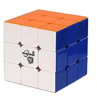 Playwin Kungfu 3X3X3 6-Color Stickerless Speed Cube