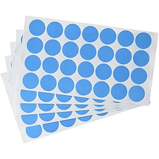 Charles Leonard Inc. Labels With Color Coding Dots - 0.75 Inch Diameter - Blue - 1000 Per Box