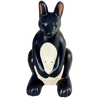 Kangaroo & Joey Shaped Stress Relief Toy, Squeezable Foam.