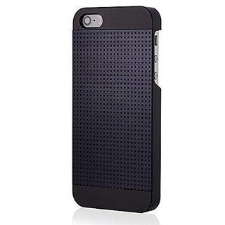 new arrivals e3ebf 36053 iPhone 5S Case, MOTOMO [Blue] iPhone 5S Case Aluminum [Perforated Aluminum]  Metal Cover Protective Case - Verizon, AT&T,