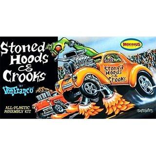 Moebius Stoned Hoods & Crroks By Vonfranco Model Kit