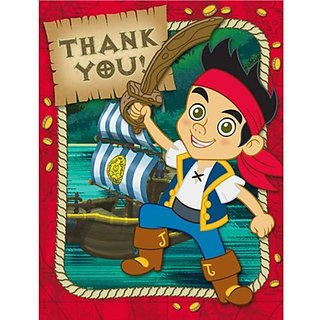 Jake and the Neverland Pirates Thank You Notes
