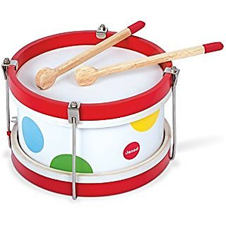 Janod Confetti Drum Music Set