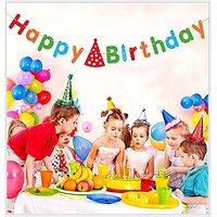 IFfree Happy Birthday Banner,Party Supplies Birthday De