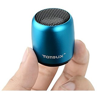 Tonbux Mini Bluetooth Speaker with Selfie Camera Feature, Built-in Mic,  Rechargeable Portable Bluetooth Speaker for iPh