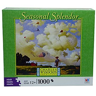 Charles Wysocki Seasonal Splendor Series - Another Day At the Office - 1000 Piece Puzzle