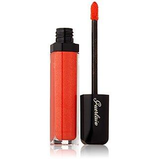 Guerlain Maxi Shine Lip Gloss for Women, # 411 Tangerine, 0.25 Ounce