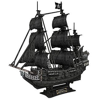CFT4018H The Queen Annes Revenge 3d puzzle 308 pieces