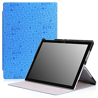 MoKo Microsoft Surface Pro 4 Case - Ultra Slim Lightweight Smart-shell Stand Cover Case for Microsoft Surface Pro 4 12.3