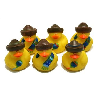 Fiesta Rubber Duckies : Package Of 12