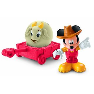 Disney Mickey Mouse Clubhouse Farmer Mickey Figure Playset