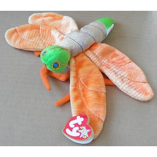 TY Beanie Babies Glow the Lightening Bug Plush Toy Stuffed Animal