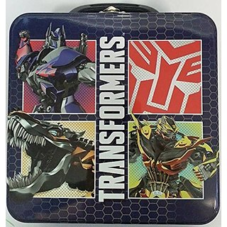 Transformers Square Tin Lunch Tote