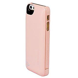 Boostcase Charging Case for iPhone 5/5S/SE - (2,200 mAh) - Retail Packaging -Blush Pink