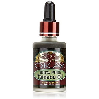 Okay 100% Pure Naturals Oil, Tamanu, 1 Ounce