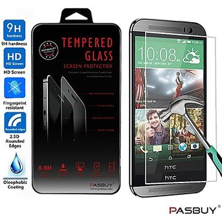 PASBUY M8 Premium Real Tempered Glass Screen Protector for HTC One M8
