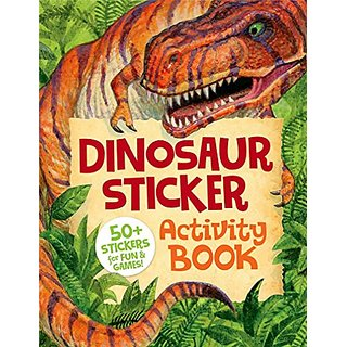 Peaceable Kingdom Dinosaur Sticker Activity Book