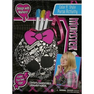 Monster High Design Color N Style Purse
