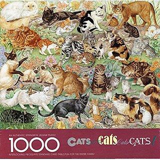 Springbok - CATS cats Cats cats CATS! - Jigsaw Puzzle - 1000 Pc