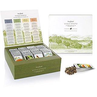 Exclusive Tea Forte Single Steeps Tea Chest New Item