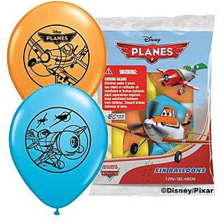 Pioneer National Latex Disney Planes 6 Count 12
