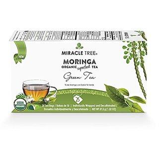 Miracle Tree - Moringa Wellness Tea Green Tea - 25 Individually Sealed Tea Bags