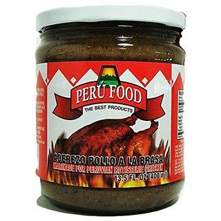 Peru Food Aderezo Pollo A La Brasa Marinade For Peruvian Roasted Chicken 13.5 Oz.