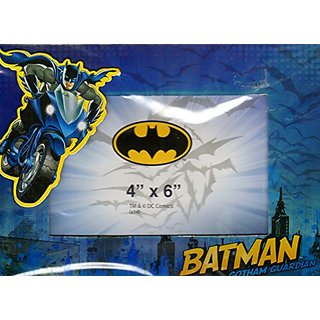 Batman - Magnetic Picture Frame (4x6 In) Newborn, Kid, Child, Children, Infant, Baby