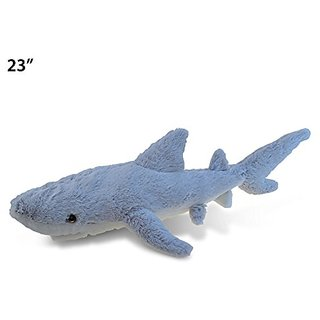 Puzzled Super Soft Shark Plush, 23