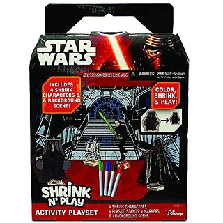 Star Wars Shrink N Play Activity Play Set