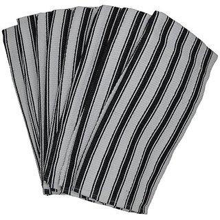 Basketweave Kitchen Towels Commercial Grade - 8 Pack