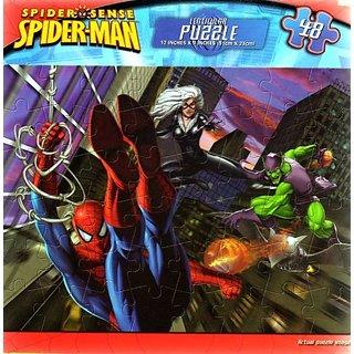 Spider-Man 48 Piece Spider Sense Lenticular Puzzle 1 Assorted - On The Run