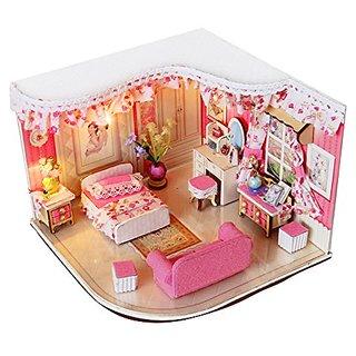 Damara Childrens 3D Puzzle Lighting Princess Bedroom