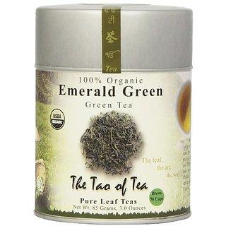The Tao of Tea, Emerald Green Tea, Loose Leaf, 3.0-Ounce Tins (Pack of 3)