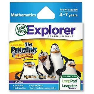 LeapFrogThe Penguins of Madagascar: Operation Plushy Rescue Learning Game (works with LeapPad Tablets and LeapsterGS)