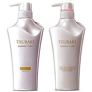 Shiseido Tsubaki Damage Care Shampoo and Conditioner Set