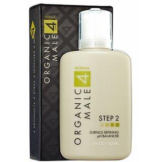 Organic Male OM4 Normal STEP 2: Surface Refining Ph Balancer - 4 oz