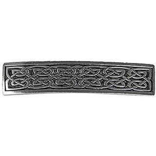 Small Celtic Hair Clip Hand Crafted Metal Barrette Made in the USA with imported French Clips By Oberon Design ...
