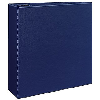 buy avery durable binder with 4 inch gap free slant ring blue