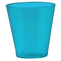 Amscan Big Party Pack Plastic Shot Glasses, 2 Oz., Cari
