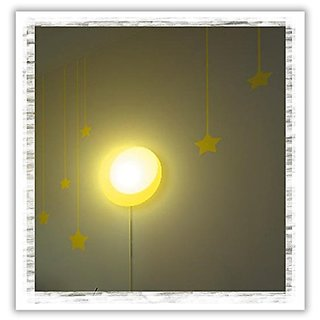 Dream Wall Wall Sticker with Night Light, Happy Sun