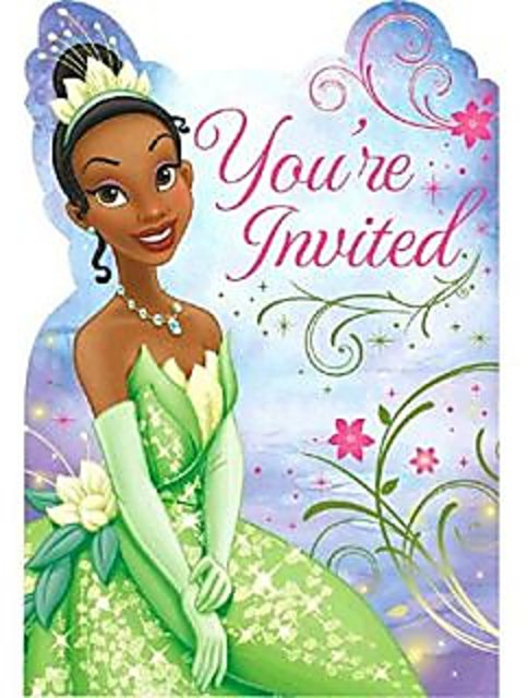 Disney Tiana Enchanted Collection Party Game