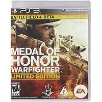 Medal Of Honor WARFIGHTER PS3 (Limited Edition) W Battl