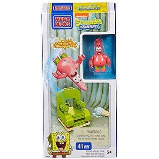 Mega Bloks SpongeBobs Patrick Wacky Pack