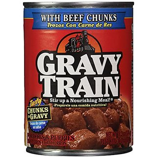 Gravy Train Canned Dog Food Case Beef