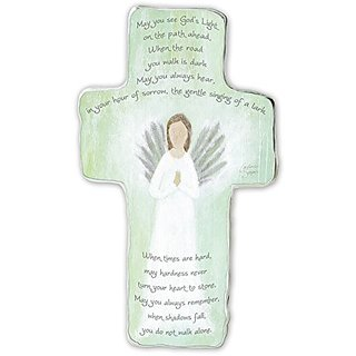 Cathedral Art SIM148 Memorial Art Metal Cross, 6-Inch
